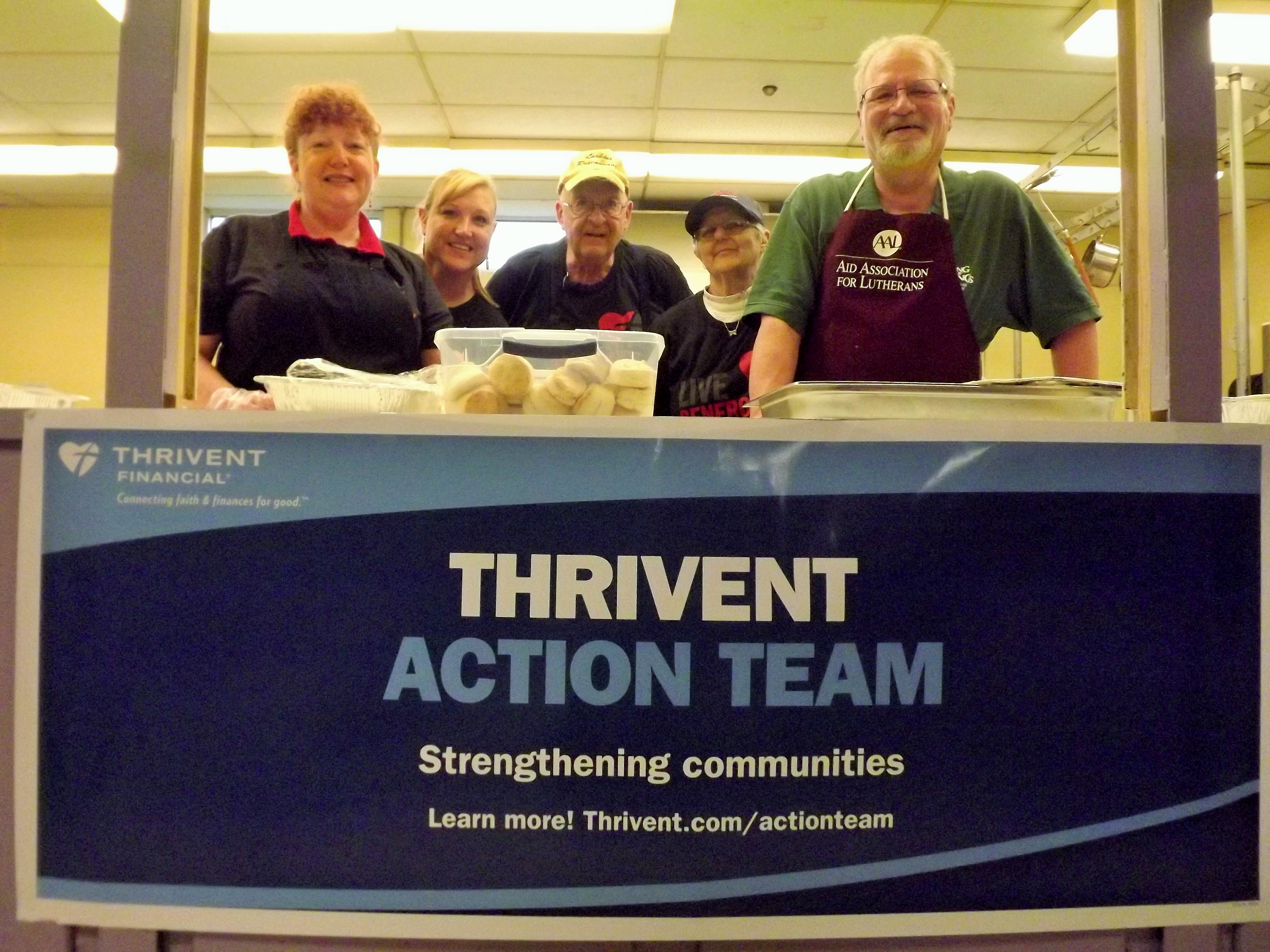 King of Kings Sponsors Community Dinner – Atonement Lutheran